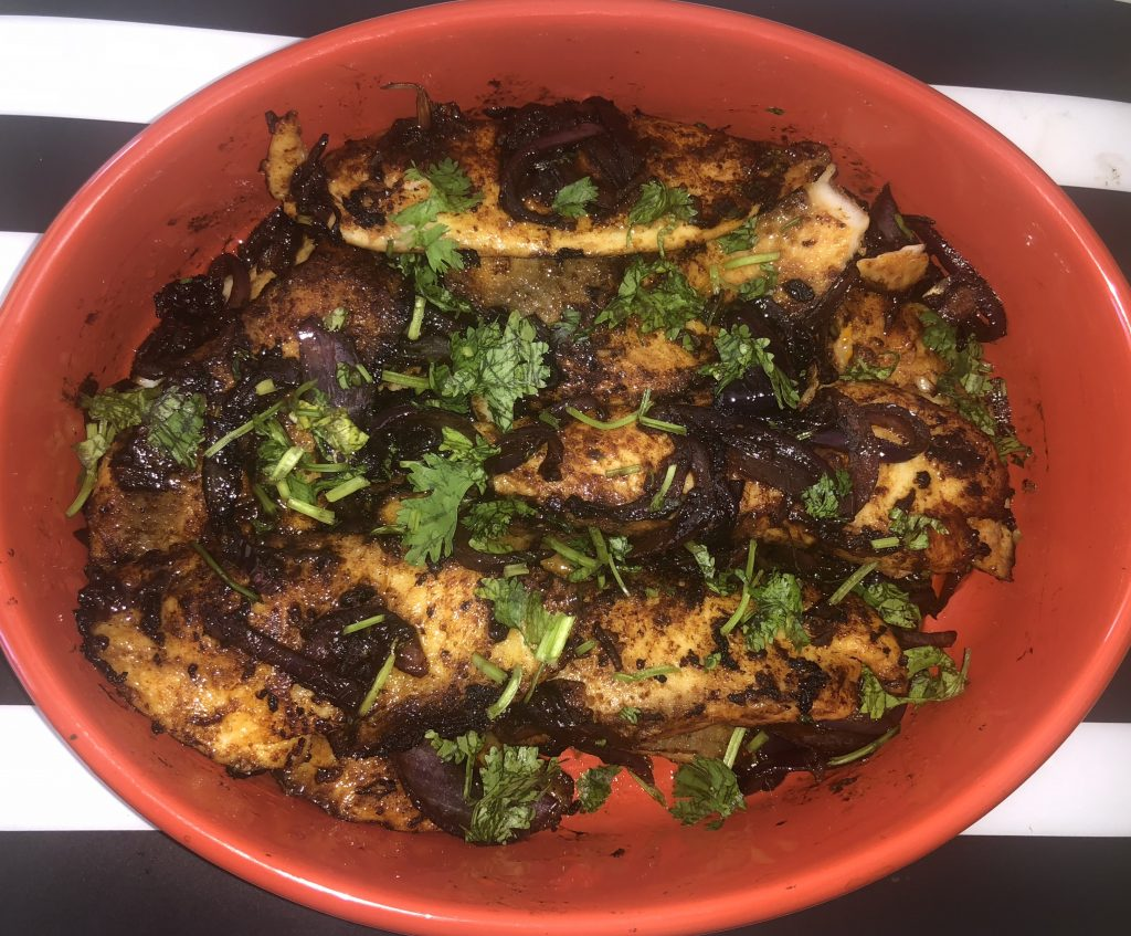 Pan-Seared Spicy Tilapia