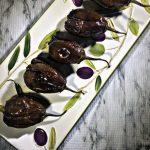 Air Fryer Stuffed Baby Eggplant