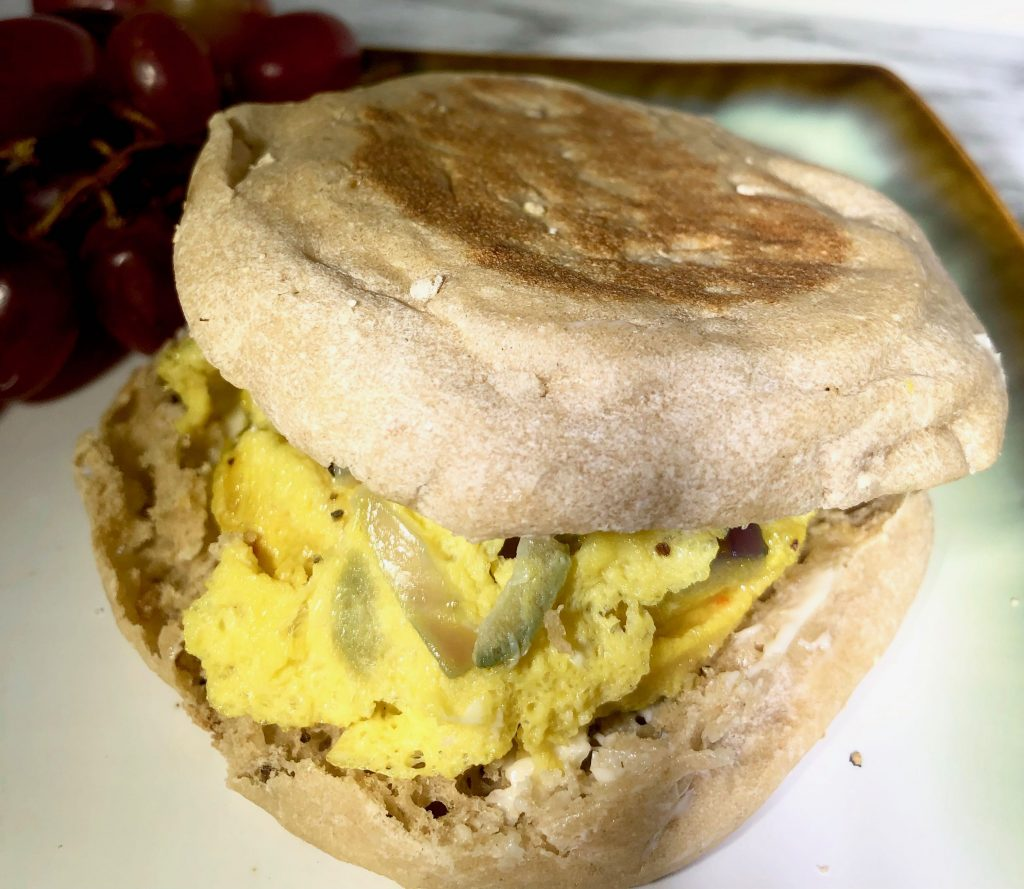 Quick and Easy Breakfast Egg Sandwich