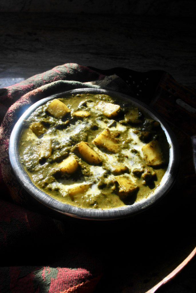 Vegetarian Keto Recipe: Palak Paneer