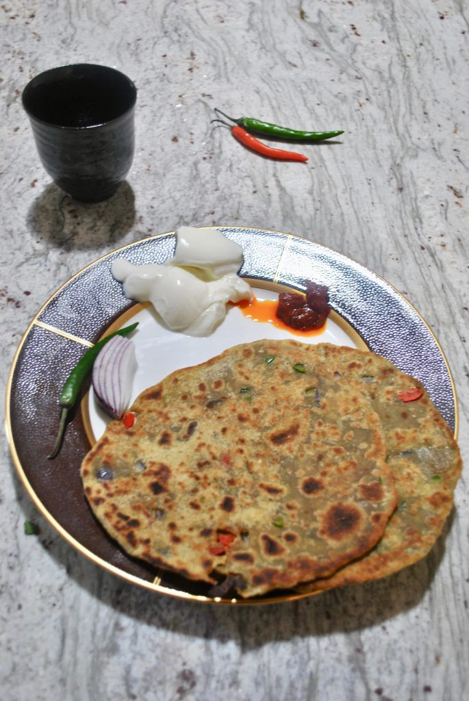 Avacado Parathas
