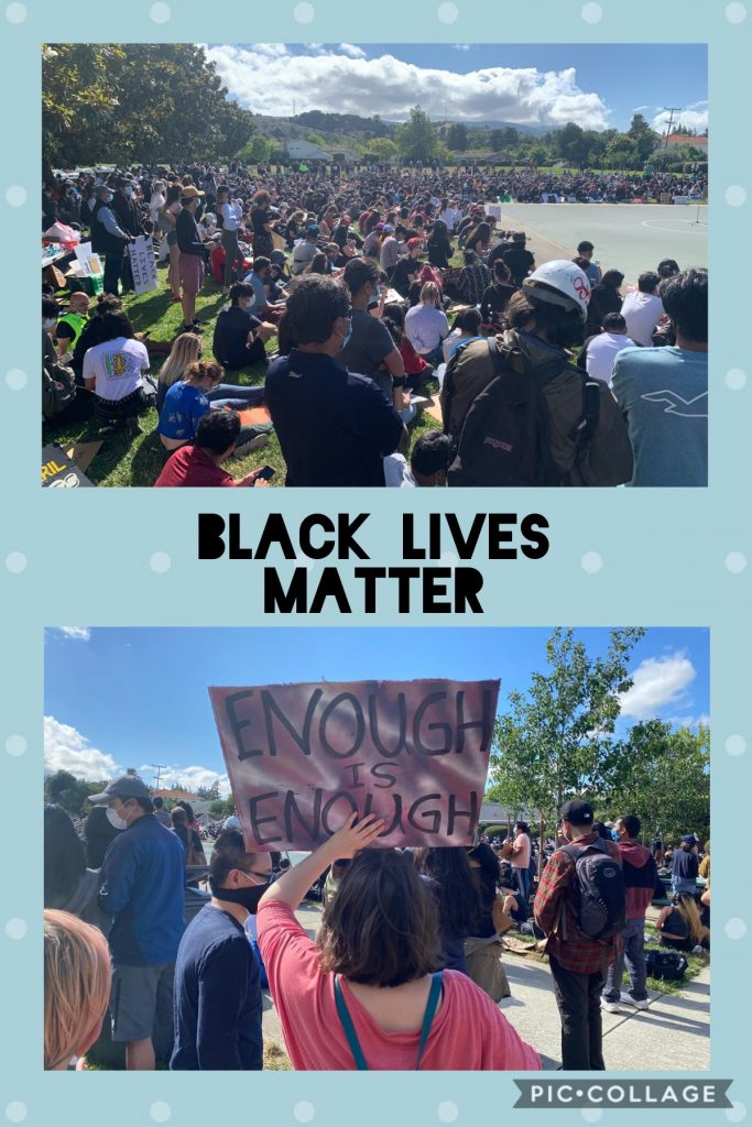 Black Lives Matter Protest at Cupertino, CA